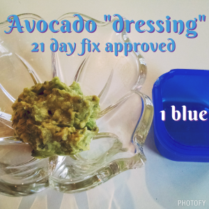"Avocado ""dressing"""