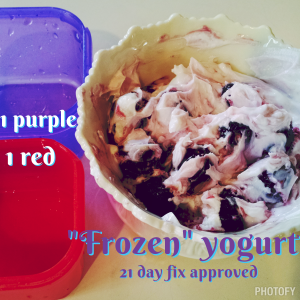 "21 df ""Frozen"" yogurt"