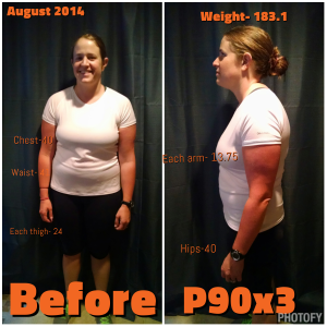 p90x3 before