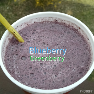 Blueberry Greenberry Shakeology