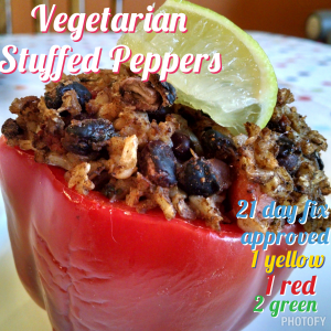 Vegetarian Stuffed Pepper