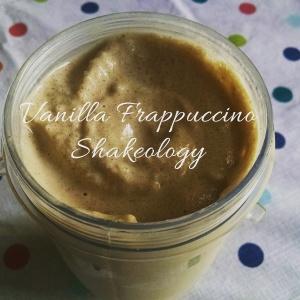 Vanilla Frappaccino Shakeology