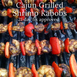 Cajun Grilled Shrimp Kabobs