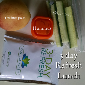 3 day refresh lunch