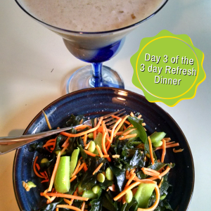 3 day refresh dinner day 3