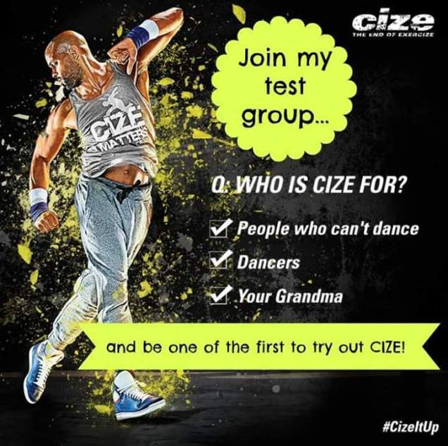 Cize Test Group forming now